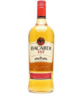BACARDI 151 PROOF 100CL