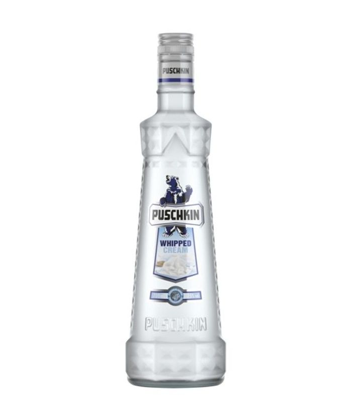 PUSCHKIN WHIPPED CREAM 70CL