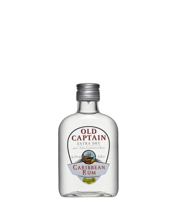 OLD CAPTAIN WITTE RUM 20CL