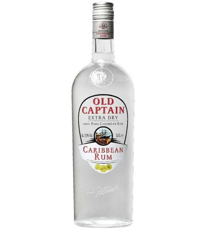 OLD CAPTAIN WITTE RUM 100CL