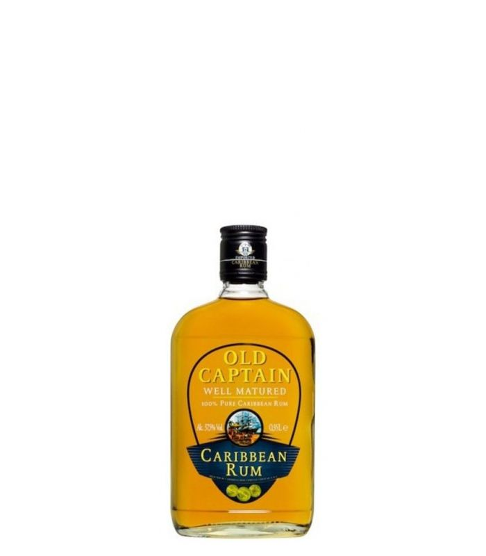 OLD CAPTAIN BROWN RUM 20CL