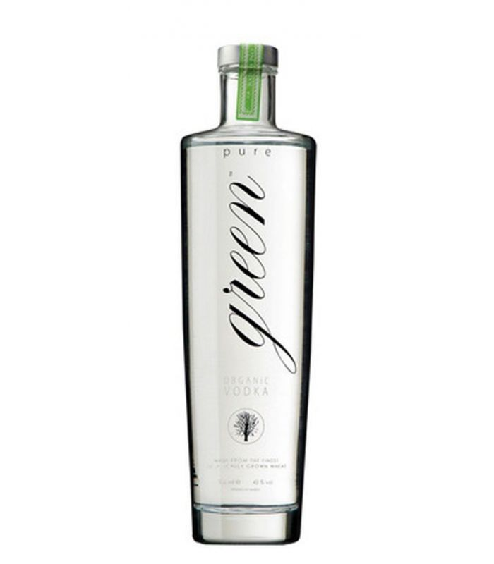 PURE GREEN ORGANIC VODKA 70CL