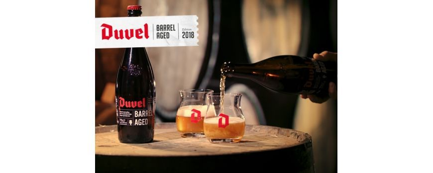 Duvel Barrel Aged Bourbon Batch 3